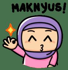 Little Hijab sticker #8077549