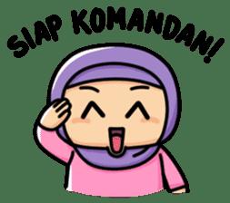 Little Hijab sticker #8077551