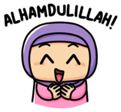 Little Hijab sticker #8077558