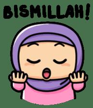 Little Hijab sticker #8077560