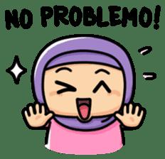 Little Hijab sticker #8077579