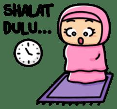 Little Hijab sticker #8077582