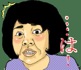 deep face human sticker #8077782