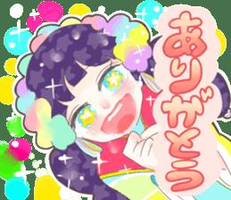 Kawaii Kirakira Girls sticker #8078909