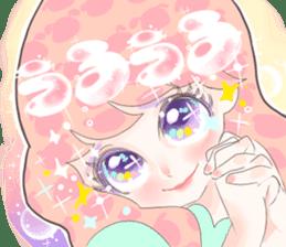 Kawaii Kirakira Girls sticker #8078911