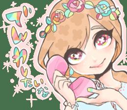 Kawaii Kirakira Girls sticker #8078912