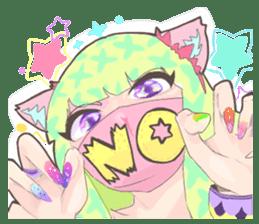 Kawaii Kirakira Girls sticker #8078914