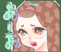 Kawaii Kirakira Girls sticker #8078915