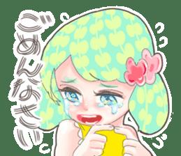 Kawaii Kirakira Girls sticker #8078916