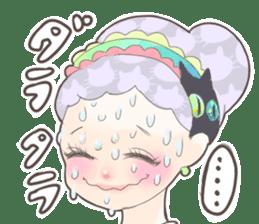 Kawaii Kirakira Girls sticker #8078920
