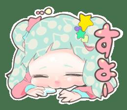 Kawaii Kirakira Girls sticker #8078921