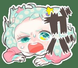 Kawaii Kirakira Girls sticker #8078922