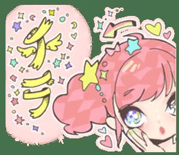 Kawaii Kirakira Girls sticker #8078924