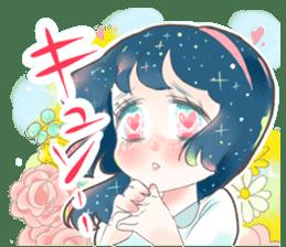 Kawaii Kirakira Girls sticker #8078925