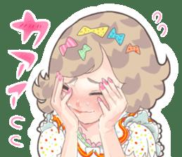 Kawaii Kirakira Girls sticker #8078927