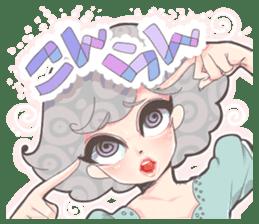 Kawaii Kirakira Girls sticker #8078928