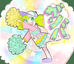 Kawaii Kirakira Girls sticker #8078932