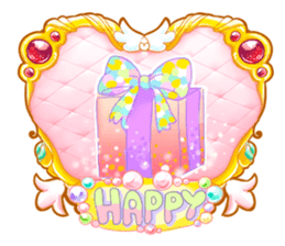 Kawaii Kirakira Girls sticker #8078933