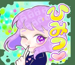 Kawaii Kirakira Girls sticker #8078934
