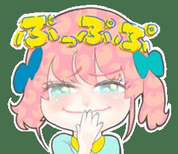 Kawaii Kirakira Girls sticker #8078935