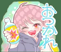 Kawaii Kirakira Girls sticker #8078937