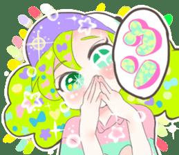 Kawaii Kirakira Girls sticker #8078939