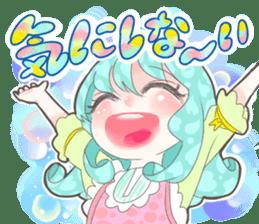 Kawaii Kirakira Girls sticker #8078940