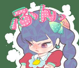 Kawaii Kirakira Girls sticker #8078941
