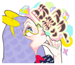 Kawaii Kirakira Girls sticker #8078942