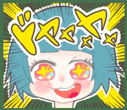 Kawaii Kirakira Girls sticker #8078945