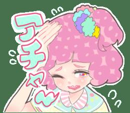 Kawaii Kirakira Girls sticker #8078946