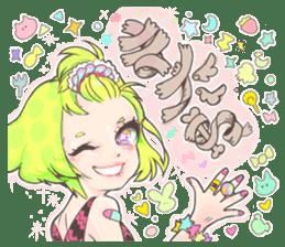 Kawaii Kirakira Girls sticker #8078947