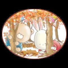 Cute bear and rabbit 3 by Torataro