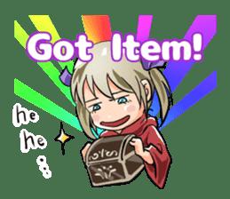 Online! Hizumi-chan Lv.1e sticker #8086782