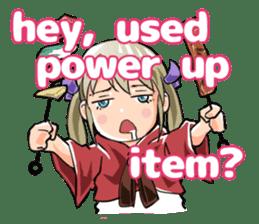 Online! Hizumi-chan Lv.1e sticker #8086784