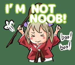 Online! Hizumi-chan Lv.1e sticker #8086794