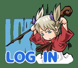 Online! Hizumi-chan Lv.1e sticker #8086803
