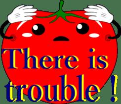 Safety confirmation by vegetables ( men) sticker #8088009