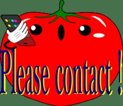 Safety confirmation by vegetables ( men) sticker #8088011