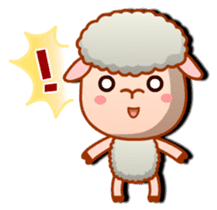 Happiness sheep & deer( International ) sticker #8093105