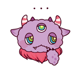 Kaiju Nemuke Sticker-English ver. sticker #8093597
