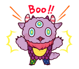 Kaiju Nemuke Sticker-English ver. sticker #8093598