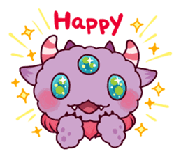 Kaiju Nemuke Sticker-English ver. sticker #8093606