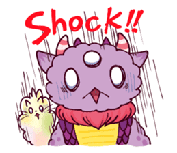Kaiju Nemuke Sticker-English ver. sticker #8093607