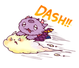 Kaiju Nemuke Sticker-English ver. sticker #8093610