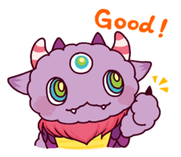 Kaiju Nemuke Sticker-English ver. sticker #8093611