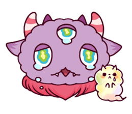 Kaiju Nemuke Sticker-English ver. sticker #8093613