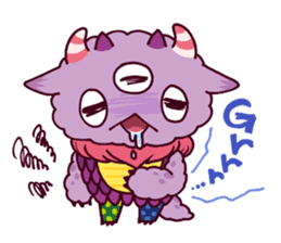 Kaiju Nemuke Sticker-English ver. sticker #8093616