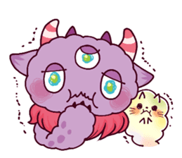 Kaiju Nemuke Sticker-English ver. sticker #8093617