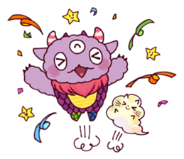 Kaiju Nemuke Sticker-English ver. sticker #8093618